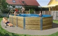 Weka Pool Korfu 2 Sparset inkl. Sandfilteranlage by weka Holzbau GmbH kaufen