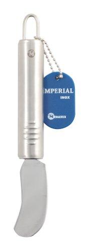 Metaltex 233243 Couteau à Beurre Acier Inoxydable Argent 20 x 15 x 7 cm