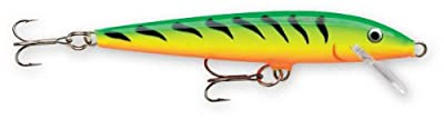 Rapala Original Floater 18 Fishing lure, 7-Inch, Firetiger from Rapala