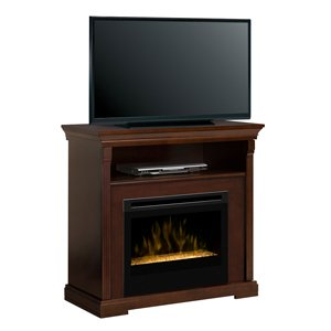 Dimplex Thorton Electric Fireplace Media Console w/Glass Embers - GDS25G-1362E image B00EW72RHQ.jpg