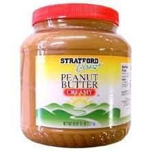 Carriage House Stratford Farm Creamy Peanut Butter, 5 Pound -- 6 per case.