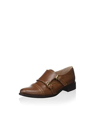 Cortefiel Zapatos Monkstrap Leather Monk Marrón