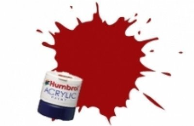 Humbrol Acrylic Paint, EWS Red
