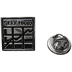 Sell High Investment Lapel Pin