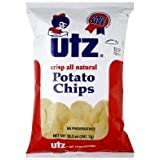 Utz Potato Chips, Family Size, 9.5 oz, (pack of 3)