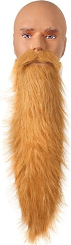 Blonde ZZ Top Adult Costume Beard One Size