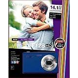 Vivicam F128 Hd 14.1 Mega Pixels Digital Camera Blue
