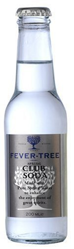 Fever-Tree Spring Club Soda, 6.8-Ounce Glass Bottles (Pack of 24) by Fever-Tree (Fever Tree Spring Club Soda compare prices)