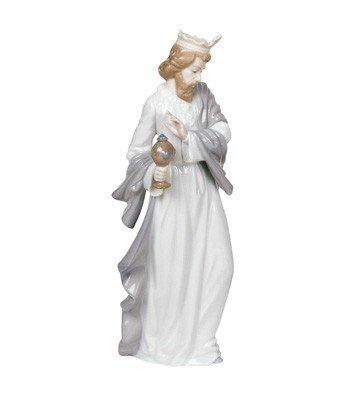 Nao King Gaspar w/ Cup Figurine