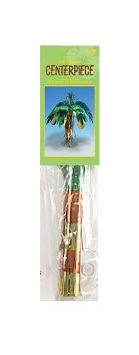 Creative Converting Foil Mini Centerpiece, Luau Coconut Tree - 1