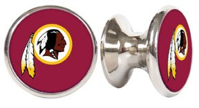 Washington Redskins NFL Stainless Steel Cabinet Knob / Drawer Pull (Nfl Fan Pull compare prices)