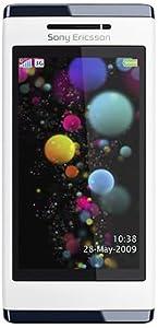"Sony Ericsson Aino Téléphone portable Ecran tactile 3"" Quadri-bande Appareil photo 3,1 Mpix Lecteur Multimédia Bluetooth / Wifi / USB Luminous White"