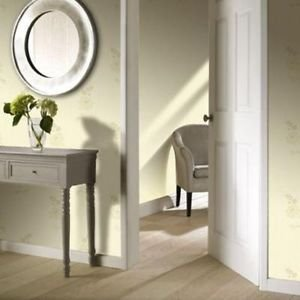 Gran Deco Regency Wallpaper - Plain Gold by New A-Brend