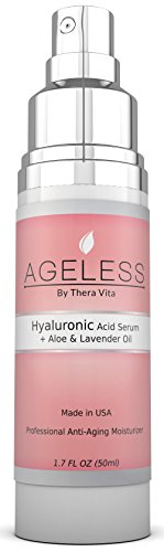 Hyaluronic Acid Eye Treatment, Facial Serums And Oils - Advanced Anti-Aging Collagen Type 1 Nutritional Supplements That Refine - Love It Or It'S Free! Vitamin C E D A, Witch Hazel, Green Tea, Msm And Lavender Oil! Enhance Your Natural Beauty Quickly. Ros