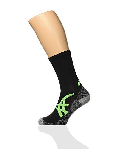 Asics Calcetines Fuji Negro / Verde