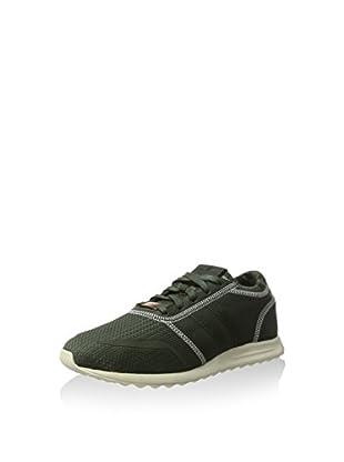 adidas Zapatillas Los Angeles (Verde Oscuro)