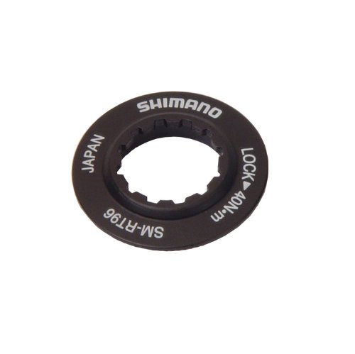 Image of Shimano Smrt96 Lockring & Washer, F/Smrt-96 (Xtr) Rotor Only (Y8CL98090)