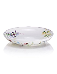 Spring Meadow Round Pasta Bowl