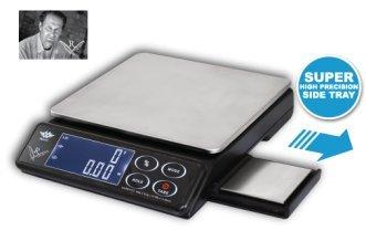 PROMOTION - Balance de cuisine 2 en 1 avec grand plateau 8000g x 1g et petit plateau de 200g x 0.1g