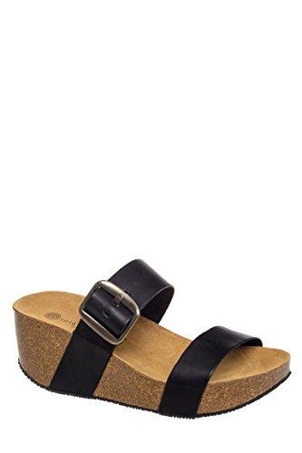 Izzi Casual Mid Wedge Sandal
