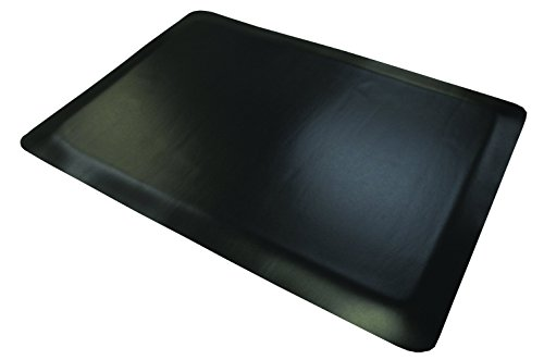 mat rubber 2 39 x3 39 black office supplies office chair mats fatigue