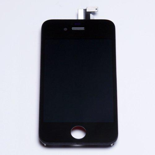 iPhone 4S タッチパネル(フロントガラスデジタイザ) 液晶パネルセット/ブラック