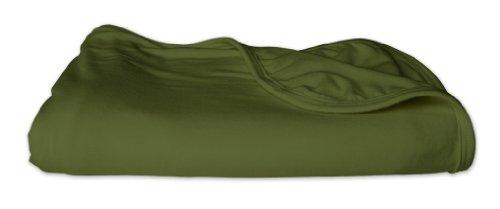 Kickee Pants Swaddling/Receiving Blanket, Moss front-156465