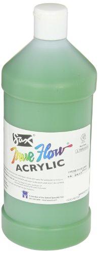 Sax True Flow Medium Bodied Acrylic Paint - Quart - Chrome Green