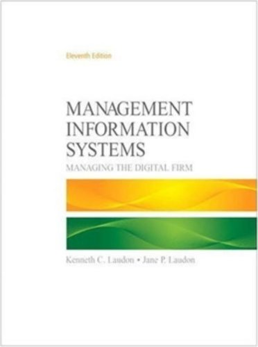 Management Information Systems (11th Edition)