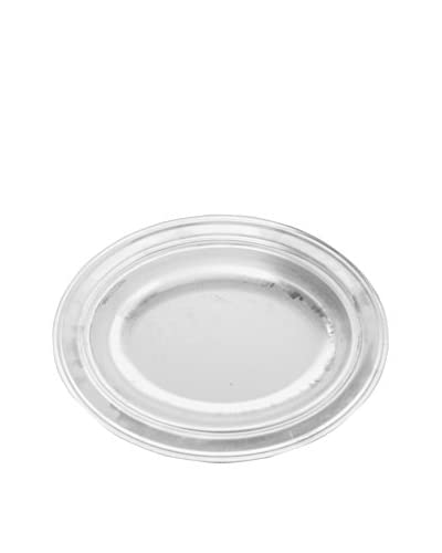 Cunill Silver-Plated Oval Centerpiece
