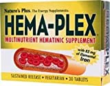 Nature's Plus - Hema-Plex, 30 tablets