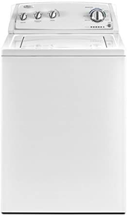 "Whirlpool WTW4800XQ 27.5"" 3.4 cu. ft. Top Load Washer in White"