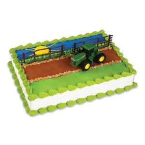 John Deere Cake Topper Decorating Kit