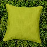 Cushion Casa Cushion Covers (Lime Green)