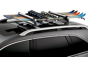 Genuine Acura Accessories 08L03-E09-200A Multi-Ski Attachment for Roof Rack
