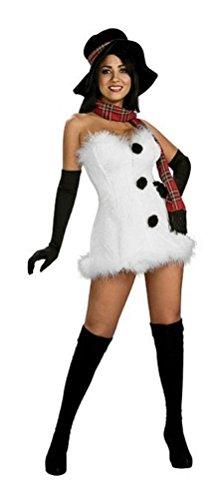 Coslove Frostbite Frostbitten Snowman Sexy Adult Christmas Costume Size Medium