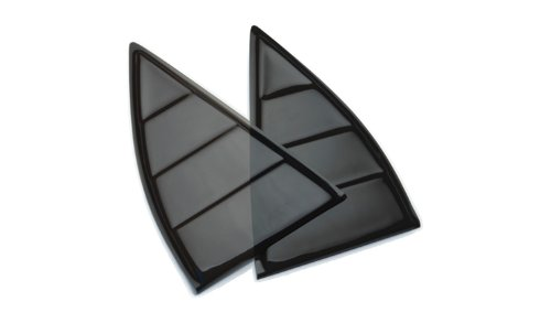 T-Rex 6910101 Black Window Louver for Chevrolet Camaro 2010 - Set of 2 (2012 Camaro Louvers compare prices)