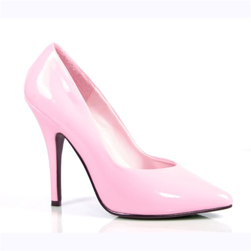 PleaserUSA Classic High Heel Pumps Seduce-420 babypink patent Size 10.5 UK