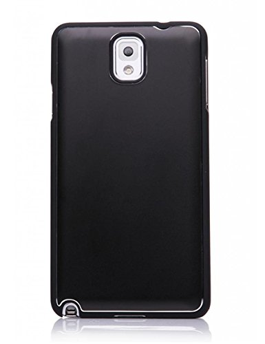 Mobile 7 Samsung Galaxy Note 3 Hard Case Cover BLACK- Retail Packaging