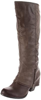 Fergalicious Women's Ryder Knee-High Boot,Brown,5.5 M US