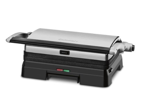 Cuisinart GR-11FR Cuisinart GR-11FR Griddler 3-in-1 Grill and Panini Press (Certified Refurbished), Black (Grill Griddler compare prices)