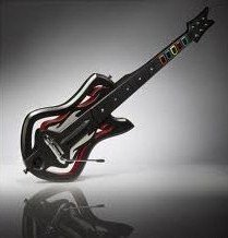 Guitar Hero: Warriors of Rock Wireless Guitar Controller - Guitar Only - For Wii