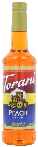 Torani Syrup, Peach, 25.4-Ounce Bottles (Pack Of 3) front-138673
