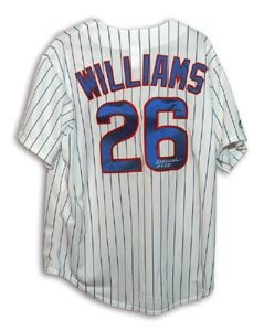 Billy Williams Signed Chicago Cubs Majestic Jersey - HOF 87