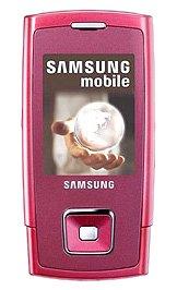 Samsung E900 Sim Free Mobile Phone - Pink