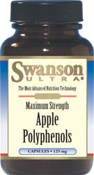 Swanson Maximum Strength Apple Polyphenols 125 mg 60 Caps (Apple Polyphenol Extract compare prices)