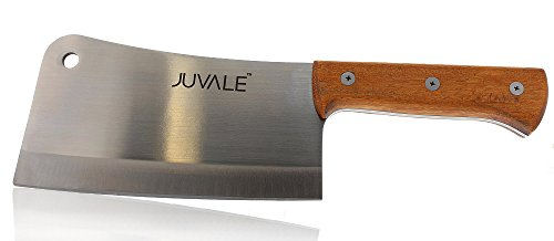 Meat Cleaver - Stainless Steel Heavy-duty Butcher Knife - 8 Inch (Meat Bone Cutter compare prices)