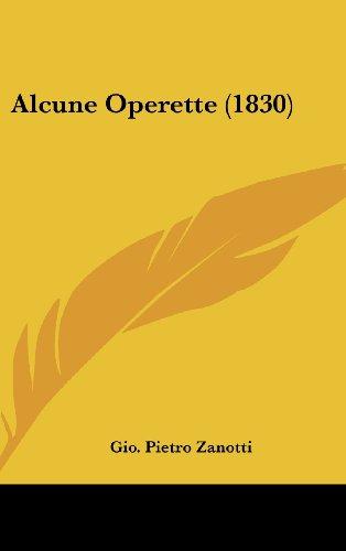 Alcune Operette (1830)