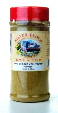 New Mexican Chili Powder (Green) - 7.00 Ounce Jar (New Mexican Green Chili compare prices)