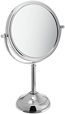 Best Cheap Deal for Jerdon JP916C 6-Inch Vanity Mirror with 5x Magnification, Chrome Finish by Jerdon - Free 2 Day Shipping Available